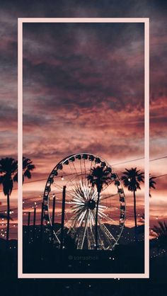 | @sofia.grozz Gif Pictures, Beach Girls, Phone Wallpapers, Ferris Wheel, Sunrise, Wheels, Wallpapers, Wallpaper For Phone, Sunrises