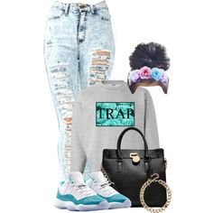 Trap Queen!! by desarae143 - Polyvore