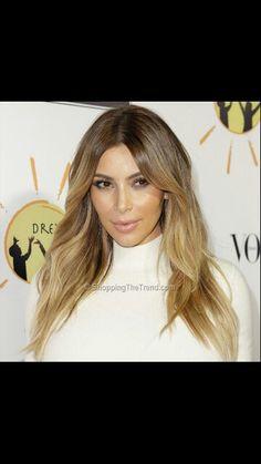 Kim Kardashian Blonde Hair 2013