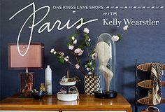 One Kings Lane Shops  : Paris with Kelly Wearstler