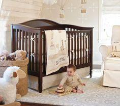 50 Ideas baby nursery colors pottery barn kids for 2019 Baby Room Themes, Baby Boy Rooms, Baby Boy Nurseries, Baby Room Decor, Nursery Themes, Baby Cribs, Nursery Room, Nursery Ideas, Nursery Bedding