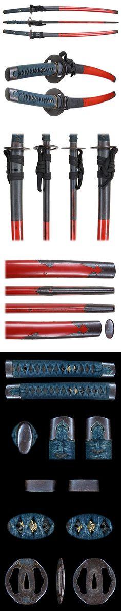 朧月象ヲ也 Oboro Tsukiyou o Nari Samurai Weapons, Katana Swords, Ninja Weapons, Japanese Blades, Japanese Sword, Swords And Daggers, Knives And Swords, Sword Design, Arm Armor