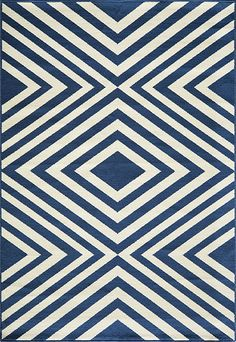 We love the big, bold diamond motif on the Payln Rug. Place it in a large living area for fresh and modern flair.