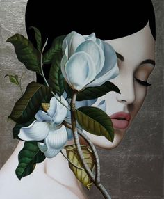 By mixing different influences the artist Slava Fokk presents his surrealist painting that reminds us of a neoclassical style with art deco atmosphere Surrealism Photography, Art Photography, Art Sketches, Art Drawings, Arte Indie, Arte Pop, Surreal Art, Portrait Art, Woman Portrait