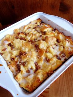 Apple Rum Raisin Bread Pudding / Pudin de Pan y Pasas_RECETINES ASGAYA ...