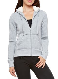 Sweat It Out, Rainbow Shop, Elbow Patches, Faux Fur, Hooded Jacket, Zip Ups, Hoodies, Stylish, Jackets