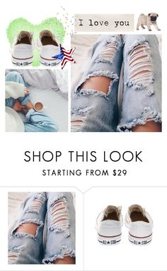 """Untitled #232"" by rubydo2 ❤ liked on Polyvore featuring Converse"