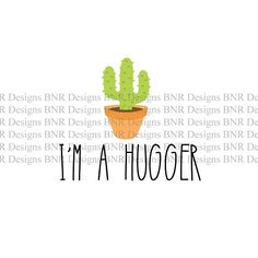 Im a Hugger SVG Cut File  You will get a ZIP file with 7 formats - AI, SVG, JPG, DXF, PNG, EPS. PSD  For use in Silhouette Cameo, Cricut and others.  The ZIP archive will be available to download once your payment is confirmed. ---------------------------------------------------------------------------------------------------------   This listing is for a digital download, no physical product will be sent to you.  You can use this file to cut a variety of materials like paper, cardboard…