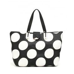 LIU JO Shopping KOS A16035 E0087 Pois Black/White