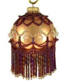 pattern 650, beaded ornaments patterns, bead christma, ornament pattern, victoria bead