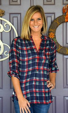 Stitch Fix- would like to try a similar flannel, I love how the buttons only go halfway down and it's a little open at the bottom.