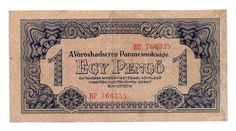 Hungarian banknotes Money Notes, Old Money, Hungary, Budapest, Vintage World Maps, 1, Report Cards