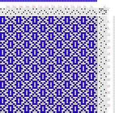 20 sur 20, planche B, no. 8: | Traité Encyclopedique et Méthodique de la Fabrication Des Tissus | P. Falcot | France | 1844 | 4-shaft, 4-treadle