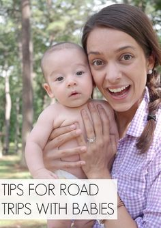 Thinking of taking a road trip this summer? Great list of tips for traveling with an infant. Take a look!