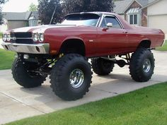 4x4 el camino.... Awesome!!