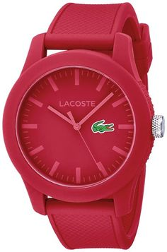 Lacoste Womens Red | The Online Mall