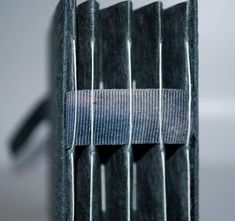 Cool concertina binding for a personal journal.