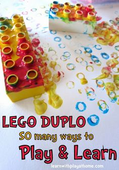 LEGO DUPLO. So many ways to play and learn. LEGO and DUPLO are great resources for the classroom.. versatile in many ways.