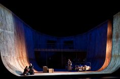 Tristan und Isolde. Oslo. Scenic design by Robert Innes Hopkins. 2012