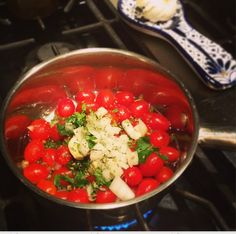 Easy Homemade Marinara Sauce With Fresh Tomatoes #recipe #Cooking #Italianfood