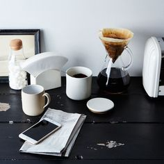 Porcelain Coffee Filter Stand