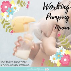 You can keep breastfeeding and go back to work. The key is understanding how milk supply works and how to manipulate it so keep your output where baby needs it. Thorough review of Supply & Demand, Getting your Freezer Stash Ready, Introducing Baby to a Bottle, and Pace Feeding. Free Pumping at Work Printables Included!