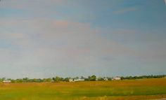 Fenton, Terry | Appraisal, Hanley, Sask. | oil on paper | To view this artwork visit us on the Lower Level of your AGA at 2 Sir Winston Churchill Square, Edmonton, Alberta, T5J 2C1 http://www.youraga.ca/artrental | #oilpainting #landscape #oilonpaper #canadiannature