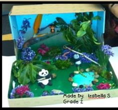 Making Lemonade in Second Grade: Animal Diorama-rama and a FREEBIE!