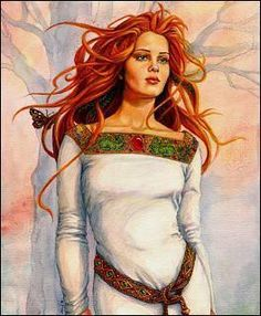 Probably my favorite right here... Rhiannon is Celtic/ Welsh Goddess of the earth and fertility, of horses and birds and inspiration and moon