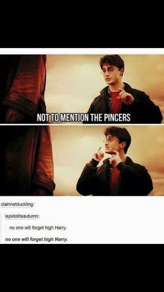 No one will forget high Harry