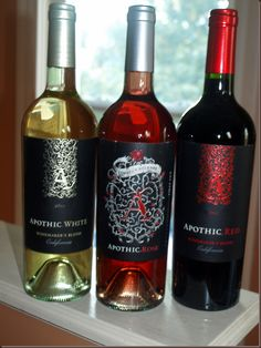 We love Apothic wines for everyday; they are a great value while still being interesting and delicious!