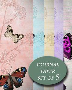 Butterfly paper, Happy planner refill, Happy Planner pages, Happy planner inserts, Happy Planner by JournalPlannerDiva on Etsy