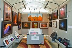 entire booth setup for sale. wow | Art fair booths