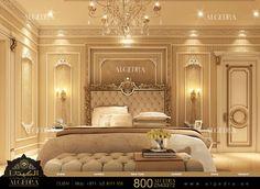 Luxury Interior Design Dubai, Interior Design Company in UAE Interior Design Dubai, Condo Interior, Interior Design Companies, Master Bedroom Design, Home Bedroom, Bedroom Decor, Modern Bedroom Furniture, Furniture Design, Traditional Bedroom