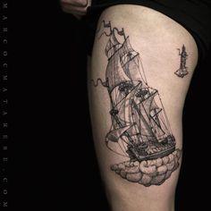The ship and the lighthouse by Marco C. Matarese (puro tattoo studio) | Etching, linework, engraving. Milan, Italy. #purotattoostudio #marcocmatarese #matarese #incisione #etching #engraving #drawing #lines #blackwork #milano #milan #tatuage #ink #tattoo #tattooist #nero #tatuatore #linework #blackart #acquaforte #blackline #tattooideas #inktattoo #black #crossetching #purotattoostudio