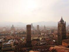 Bologna dalla Torre Prendiparte... (foto di Giuseppe Foderà)