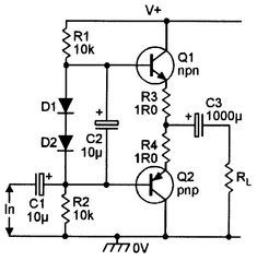 BIPOLAR TRANSISTOR  COOKBOOK — PART 2  Our first article gave an introductory outline of bipolar transistor principles, characteristics, and basic circuit configurations. This time we'll concentrate on practical ways of using bipolar transistors in useful common-collector (voltage follower) circuit applications.