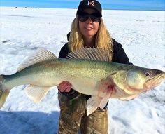 (via targetwalleye.com): @canadian_fishingaddict's last 'eye of the ice season…
