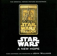 Star Wars A New Hope Soundtrack CD Special Edition 2 CD Set 1997 John Williams