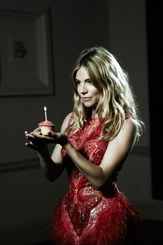 Sienna Miller in the final scenes of the film XV for the @matthewwilliamson 15 year anniversary