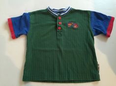 Vintage Gymboree Train All Aboard Southern Railroad 2T Boys Small Polo Shirt Tee   eBay
