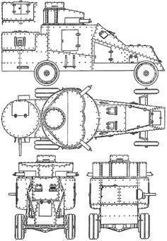 Надежды оправдались (первые русские бронеавтомобили)