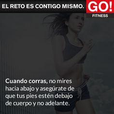 Al correr... #gofitness #clasesgo #ejercicio #gym #fit #fuerza #flexibilidad #reto #motivate
