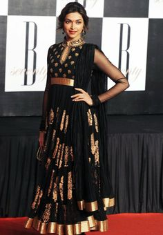 Black Colored #Designer #Lehenga Choli