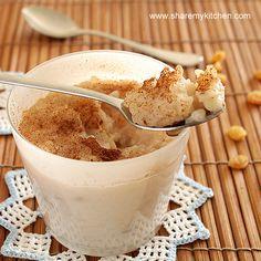 Mliako s oriz - Bulgarian Rice pudding