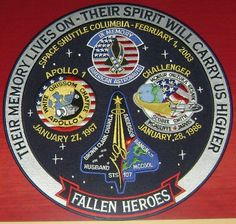 Space Memorial Patch