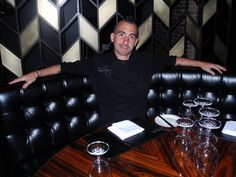 Iron Chef Marc Forgione dishes about opening his newest restaurant.