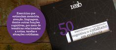 Livro com exercícios cognitivos para idosos com Alzheimer | Reab.me