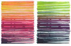 Line Series Monoprint No. 05 - Dana McClure Studio