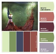 Chip It! by Sherwin-Williams Allows you to upload any picture and it will match the paint colors. How cool!!